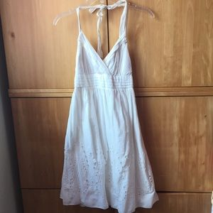 Elle white summer dress NWT